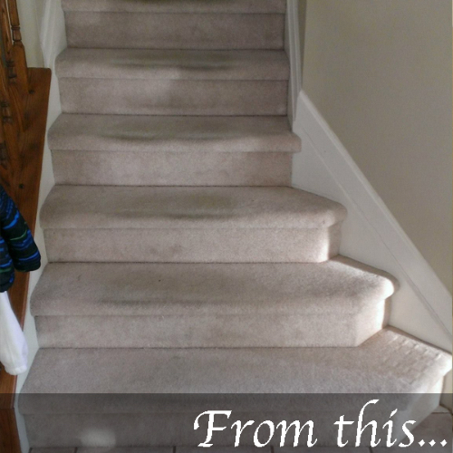 Nustair Is The Revolutionary Do It Yourself Stair Refacing System That Fits Right Over Your Old Previously Carpeted Stairs Eliminates Necessity To