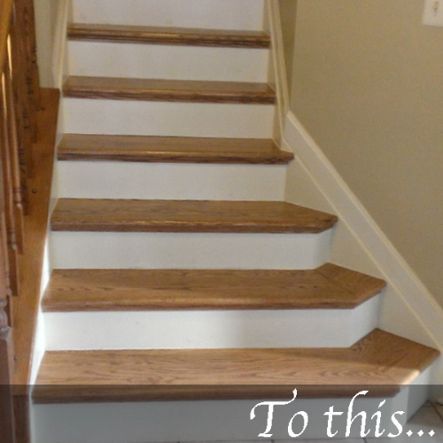 NuStair Is The Revolutionary Do It Yourself Stair Refacing System That Fits  Right Over Your Old Previously Carpeted Stairs! It Eliminates The Necessity  To ...