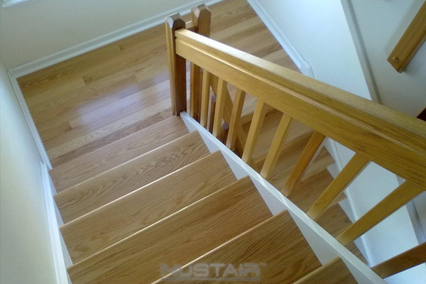 How To Remodel Stairs On A Budget Nustair