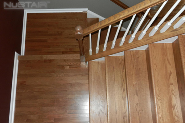 Closed Box Staircase Remodel In Charlotte North Carolina