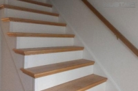 Staircase Remodel by Skyro Floors in Tuckerton, New Jersey