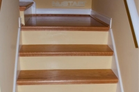 DIY NuStair Staircase Refinish in Kentwood, Michigan