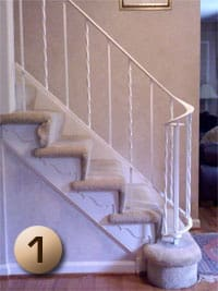 Stair Remodeling Tools and Parts