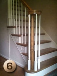 Stair Tread Nustair Hardwood Stair Tread Made In The Usa