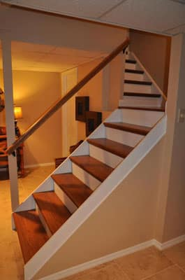 Finishing Basement Stairs with NuStair