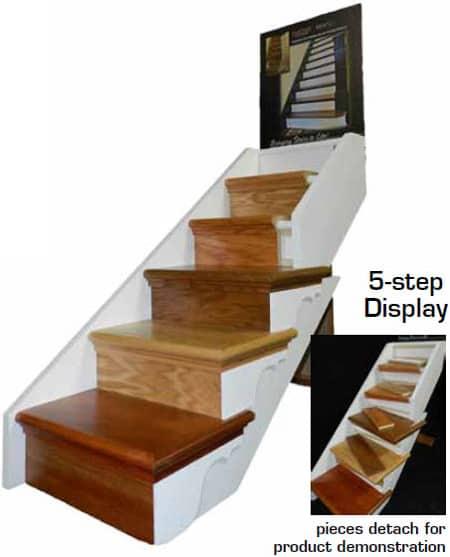 5 Stair NuStair Retail Display