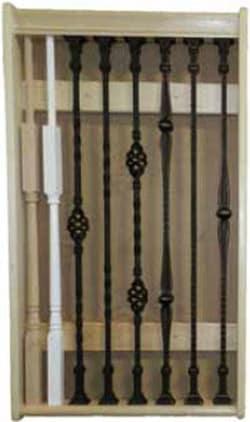 Adjustable Balusters Stair Parts Display ...