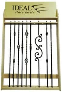 Iron Balusters Stair Parts Display