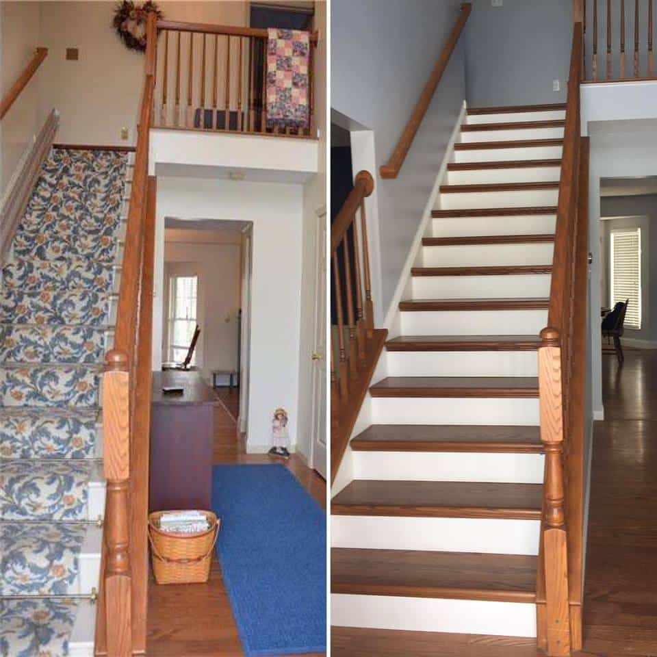 NuStair Staircase Remodel by Billy Blain