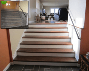 The Budget Friendly Staircase Remodel- Do it Yourself Staircase Remodel