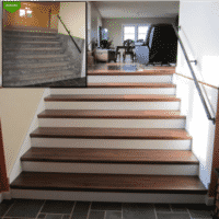 The Budget Friendly Staircase Remodel- Parts and Tread