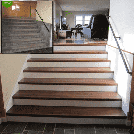 The Budget Friendly Staircase Remodel  Parts And Tread