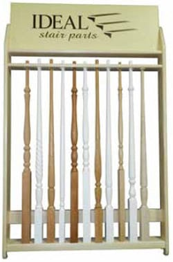 Iron Balusters Stair Parts Display, Wood Balusters Stair Parts Display ...